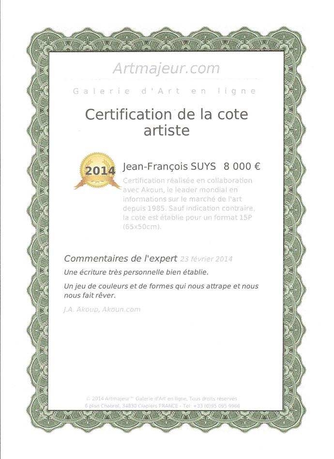 Certification : Artsuys.com
